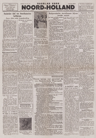 Dagblad Noord-Holland, Schager editie 1943-07-20