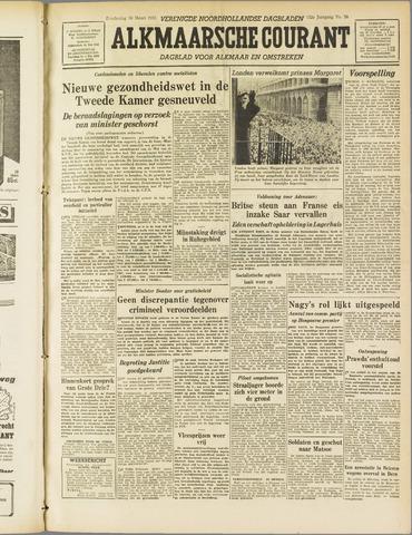 Alkmaarsche Courant 1955-03-10