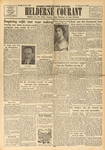 Heldersche Courant 1950-08-21