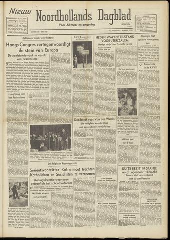 Nieuw Noordhollandsch Dagblad : voor Alkmaar en omgeving 1948-05-08