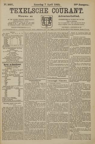Texelsche Courant 1923-04-07