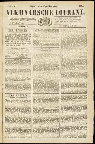 Alkmaarsche Courant 1887-12-30