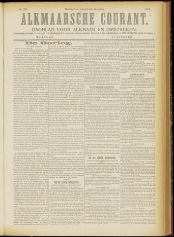 Alkmaarsche Courant 1915-10-11