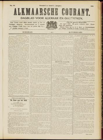 Alkmaarsche Courant 1910-02-22
