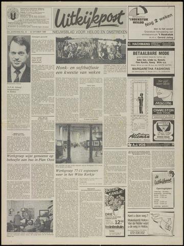 Uitkijkpost : nieuwsblad voor Heiloo e.o. 1989-10-25