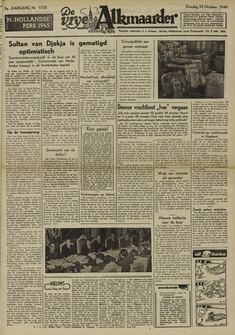 De Vrije Alkmaarder 1949-10-25