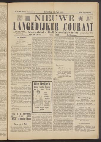 Nieuwe Langedijker Courant 1929-07-13