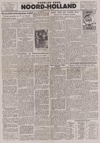 Dagblad Noord-Holland, Schager editie 1943-11-22