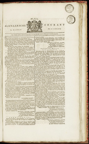 Alkmaarsche Courant 1830-01-18