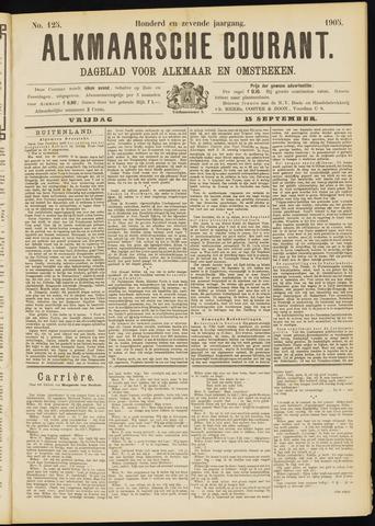 Alkmaarsche Courant 1905-09-15