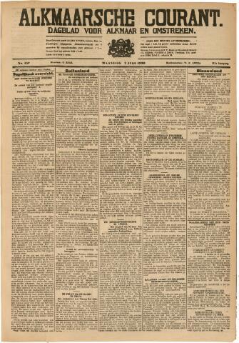Alkmaarsche Courant 1930-07-07