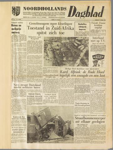 Noordhollands Dagblad : dagblad voor Alkmaar en omgeving 1960-04-01