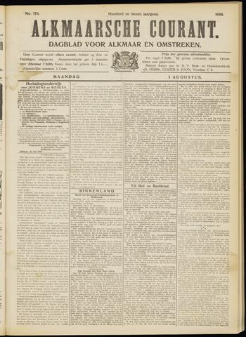 Alkmaarsche Courant 1908-08-03