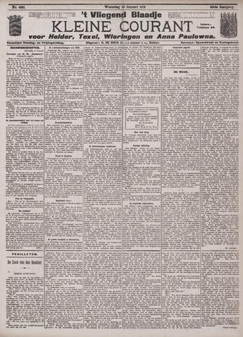 Vliegend blaadje : nieuws- en advertentiebode voor Den Helder 1912-01-10