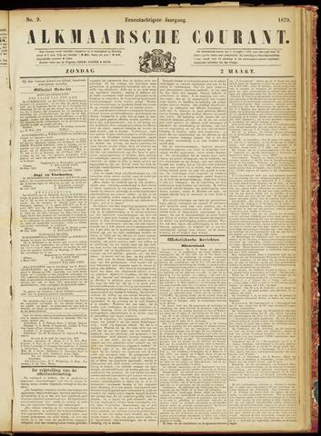 Alkmaarsche Courant 1879-03-02