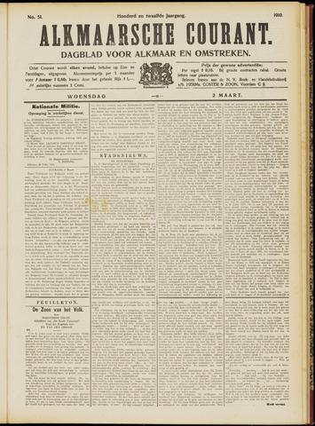 Alkmaarsche Courant 1910-03-02