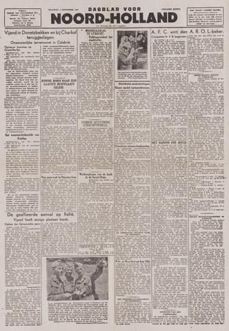 Dagblad Noord-Holland, Schager editie 1943-09-06
