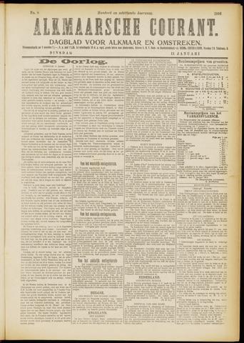 Alkmaarsche Courant 1916-01-11