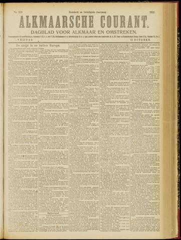 Alkmaarsche Courant 1918-10-11