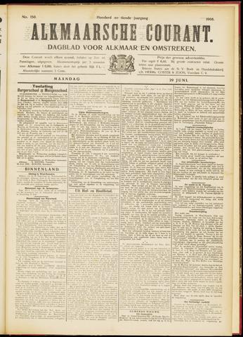 Alkmaarsche Courant 1908-06-29