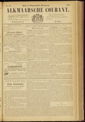 Alkmaarsche Courant 1896-05-27