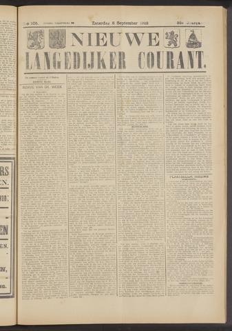 Nieuwe Langedijker Courant 1923-09-08