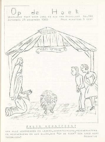 Op De Hoek, weekblad voor Akersloot 1960-12-24