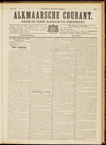 Alkmaarsche Courant 1911-04-20