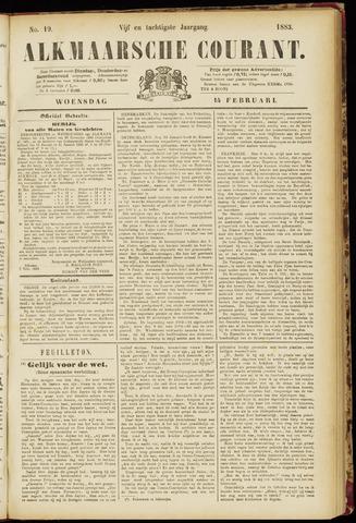Alkmaarsche Courant 1883-02-14