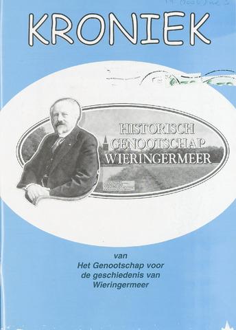 Kroniek Historisch Genootschap Wieringermeer 2006-12-01