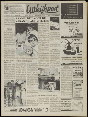 Uitkijkpost : nieuwsblad voor Heiloo e.o. 1989-06-28