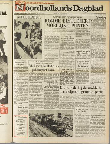 Noordhollands Dagblad : dagblad voor Alkmaar en omgeving 1963-05-25