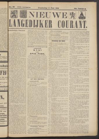 Nieuwe Langedijker Courant 1925-06-11