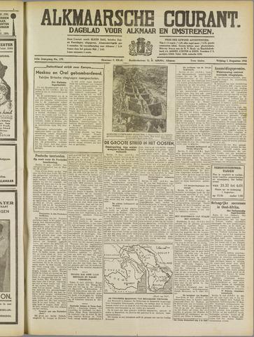 Alkmaarsche Courant 1941-08-01
