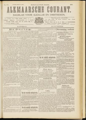 Alkmaarsche Courant 1914-11-28