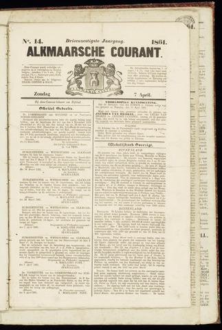 Alkmaarsche Courant 1861-04-07