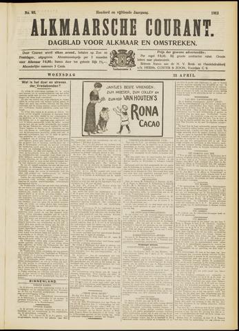Alkmaarsche Courant 1913-04-23
