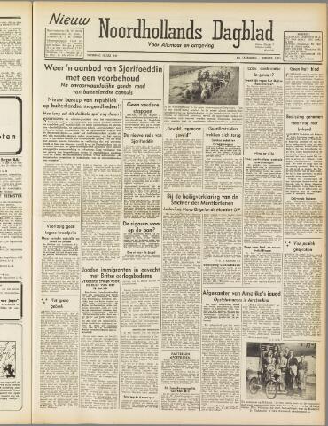 Nieuw Noordhollandsch Dagblad : voor Alkmaar en omgeving 1947-07-19