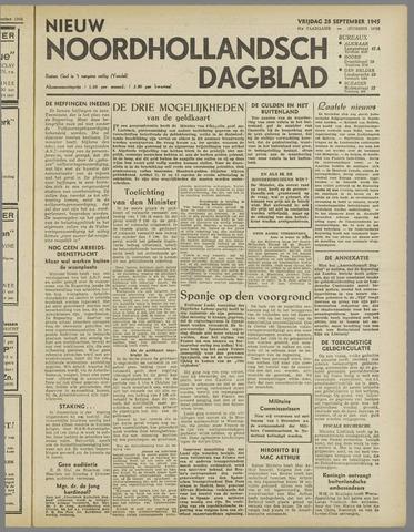 Nieuw Noordhollandsch Dagblad : voor Alkmaar en omgeving 1945-09-28