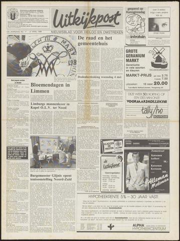Uitkijkpost : nieuwsblad voor Heiloo e.o. 1988-04-27