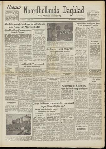 Nieuw Noordhollandsch Dagblad : voor Alkmaar en omgeving 1948-04-22