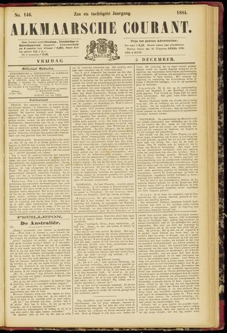 Alkmaarsche Courant 1884-12-05