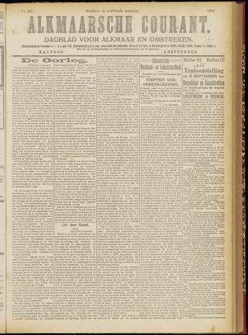 Alkmaarsche Courant 1916-09-04