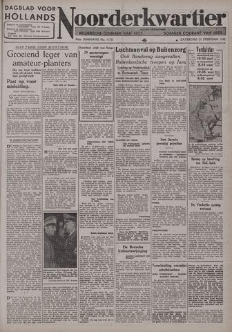 Dagblad voor Hollands Noorderkwartier 1942-02-21