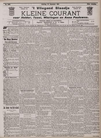 Vliegend blaadje : nieuws- en advertentiebode voor Den Helder 1902-09-20