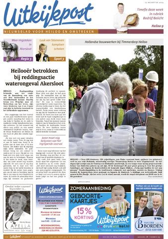 Uitkijkpost : nieuwsblad voor Heiloo e.o. 2014-08-13