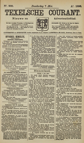 Texelsche Courant 1896-05-07