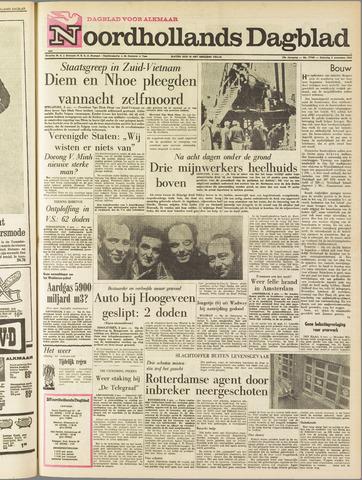 Noordhollands Dagblad : dagblad voor Alkmaar en omgeving 1963-11-02
