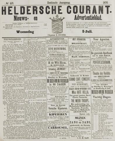 Heldersche Courant 1876-07-05