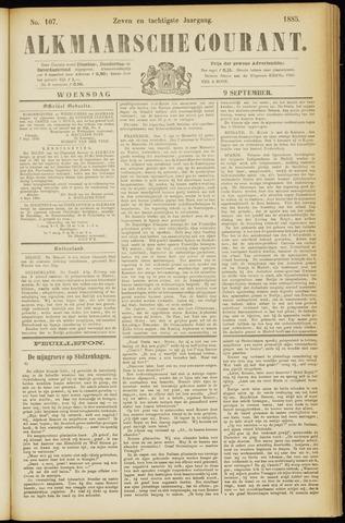Alkmaarsche Courant 1885-09-09
